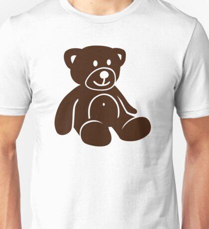 Brown teddy bear Unisex T-Shirt
