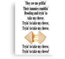 Grillin Cheese Canvas Print