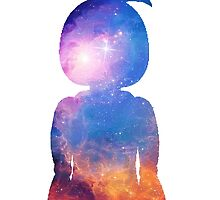 Toy Chica Space Silhouette by JellyGraphed