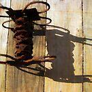 Rusty Old Wire by DottieDees