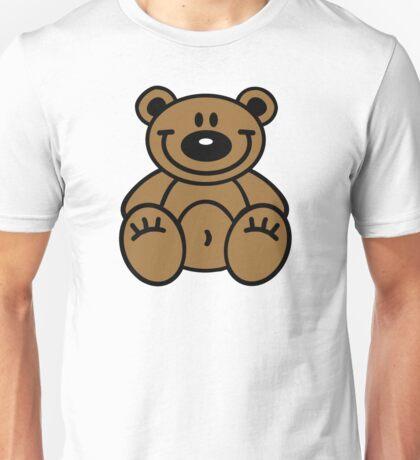 Smiling teddy bear Unisex T-Shirt