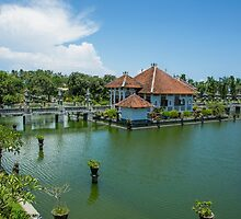 Water Palace 2 -Bali by Paul Campbell  Photography