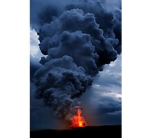 Kilauea Volcano at Kalapana 3b Photographic Print