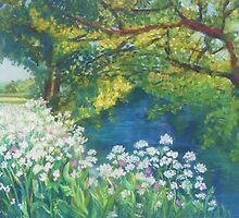 River Cerne, Dorset by Susan Duffey