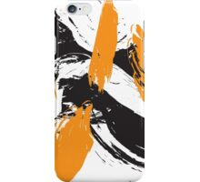 Abstract Orange iPhone Case/Skin