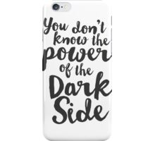Star Wars Typography iPhone Case/Skin