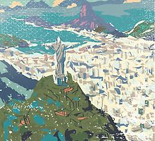 Rio de Janeiro by aloudercharm
