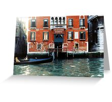 Hotel San Cassiano Ca' Favretto Greeting Card
