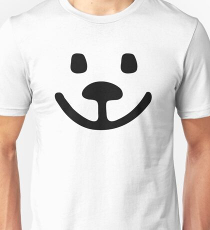 Teddy bear face Unisex T-Shirt