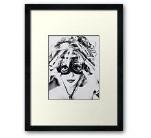 Goggles REDUX Framed Print