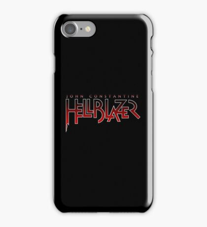 Hellblazer Logo - White iPhone Case/Skin