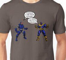 Join the Darkseid Thanos! Unisex T-Shirt