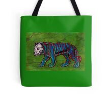 Tiger Skull Beast Tote Bag