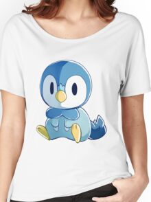 Sinnoh Project - Piplup Women's Relaxed Fit T-Shirt