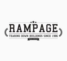 Rampage - Retro Black Clean by garudoh