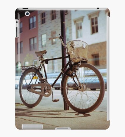 City Bicycle iPad Case/Skin