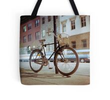 City Bicycle Tote Bag