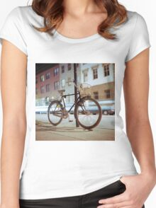 City Bicycle Women's Fitted Scoop T-Shirt