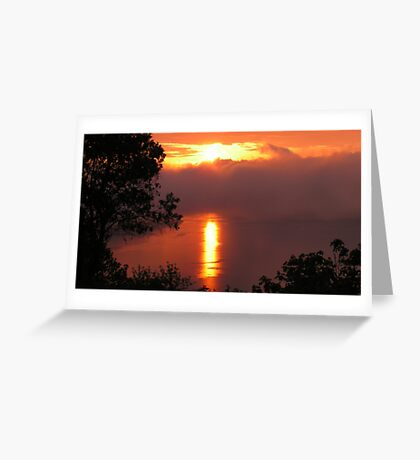 What A Morning! Greeting Card
