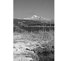 Wiser Lake View - B&W Photographic Print