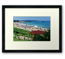 """Lazing on a Sunny Afternoon"", Lozenets, Bulgaria Framed Print"