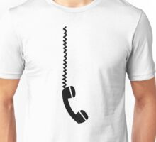 Telephone receiver cable Unisex T-Shirt