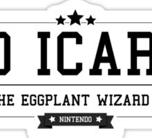 Kid Icarus - Retro Black Clean Sticker