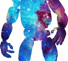 Springtrap Space Silhouette by JellyGraphed