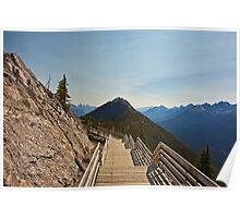 Walkway on Top of the World Poster