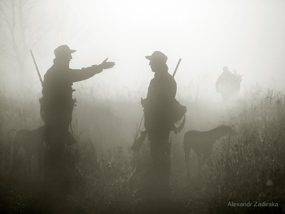 Hunter life by Alexandr Zadiraka