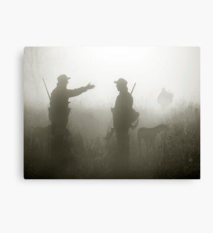 Hunter life Canvas Print