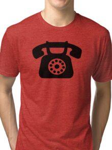 Telephone symbol Tri-blend T-Shirt