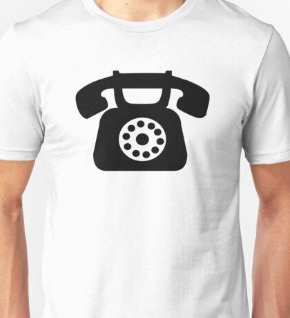 Telephone symbol Unisex T-Shirt
