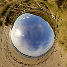 Lisfannon Beach, Fahan, County Donegal - Sky In by George Row
