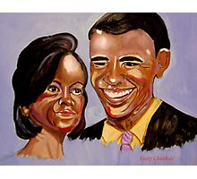 Barak and Michelle Obama:  The Power of Love Photographic Print