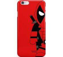 Mini-Heros - Deadpool iPhone Case/Skin