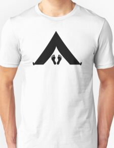 Tent feet Unisex T-Shirt