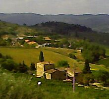 Tuscany by Genevieve Tomes