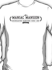 Maniac Mansion - Retro Black Clean T-Shirt
