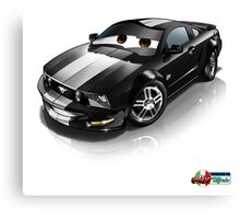 My Mustang Canvas Print