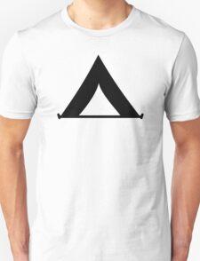 Tent symbol Unisex T-Shirt