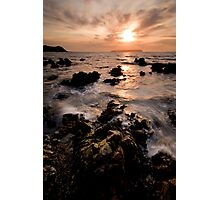 Mandarin Sunset Photographic Print