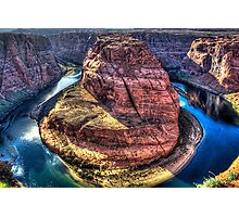 Horseshoe Bend on the Colorado River Photographic Print