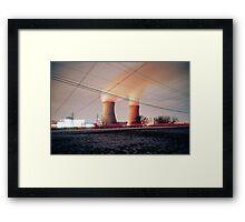 Nuclear Framed Print