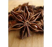 Anise Star Photographic Print