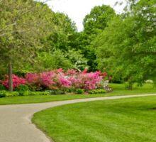 Fairmount Park Azalea Garden - Philadelphia Pennsylvania USA Sticker