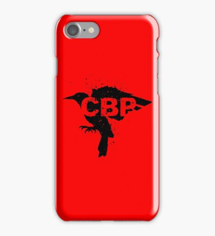 Crippled Black Phoenix Logo (Black) iPhone Case/Skin