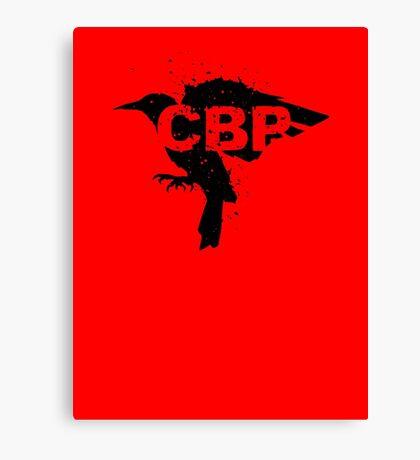 Crippled Black Phoenix Logo (Black) Canvas Print