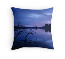 Linlithgow Palace Dawn Throw Pillow