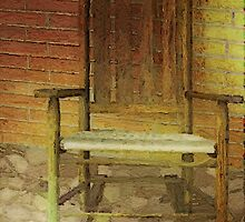 Rattan Rocker II by RC deWinter